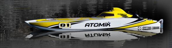 Atomik ARC Electric RC Boat