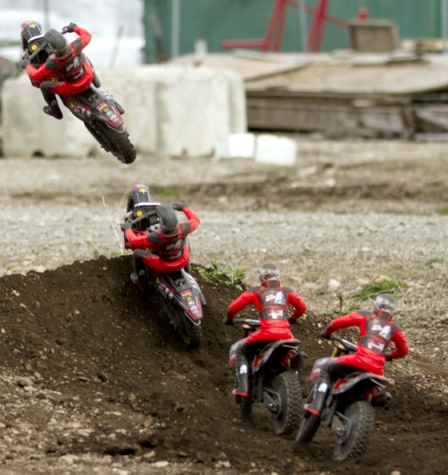 Metal Mulisha MM450 Jumping Sequence