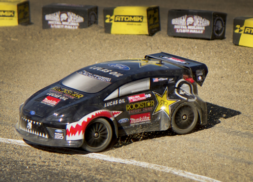 Metal Mulisha Brian Deegan RC Rally Car